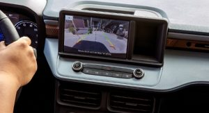 touchscreen in a 2022 Ford Maverick