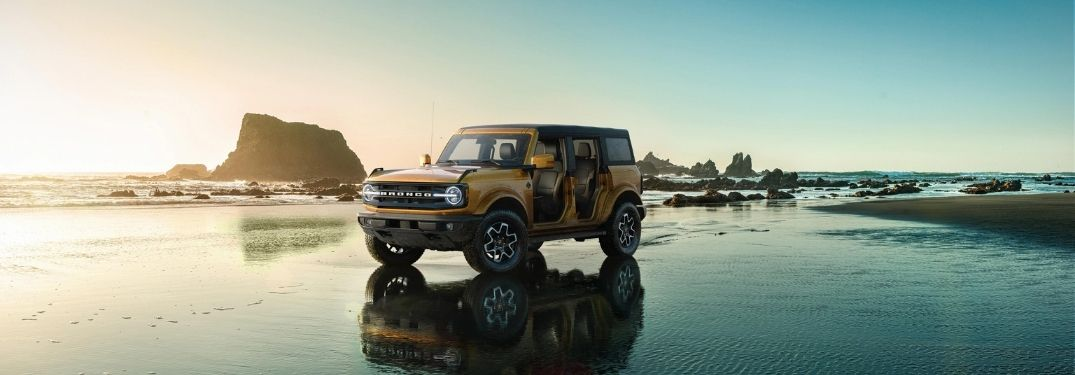 What powers the 2021 Ford Bronco?