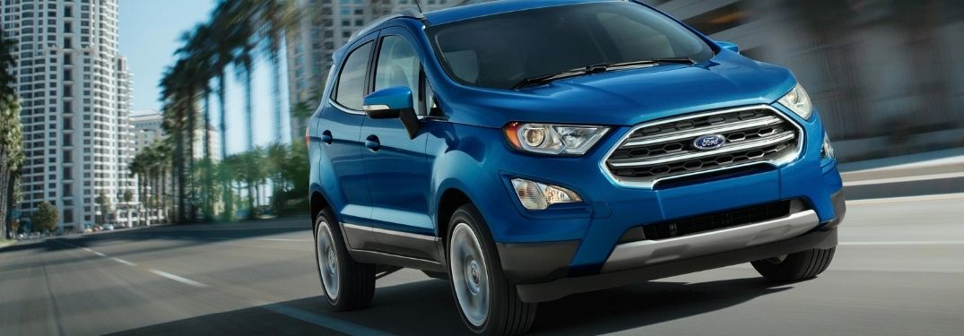 What powers the 2021 Ford EcoSport?