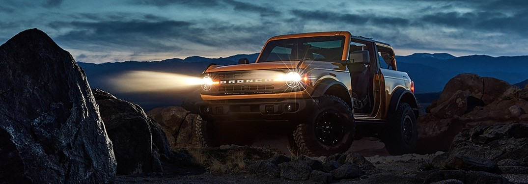 2021 Ford Bronco from exterior front