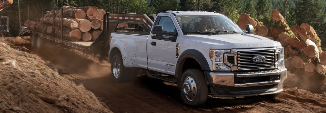 What changes were made on the 2022 Super Duty?