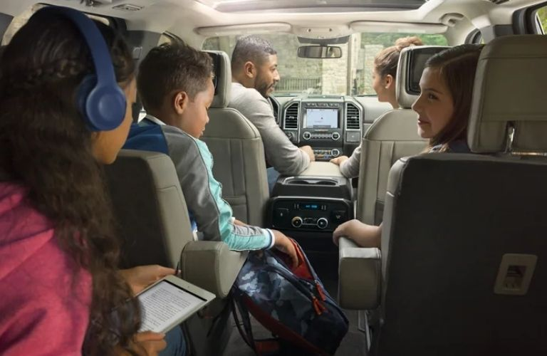 2021 Ford Expedition with passengers