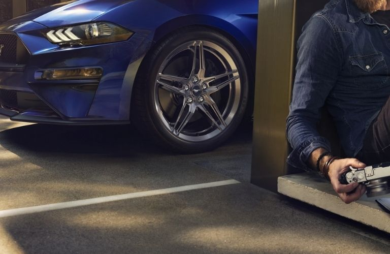 2022 Ford Mustang wheel