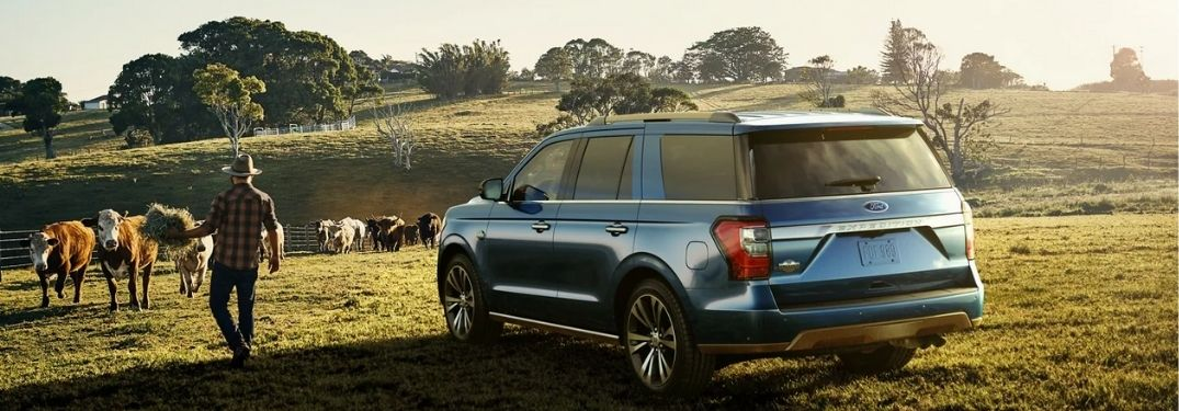 2021 Ford Expedition in a farm