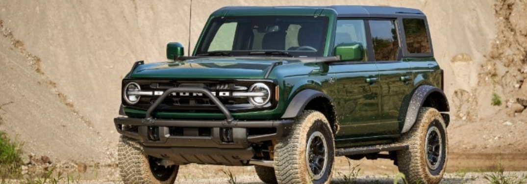 What are the 2022 Ford Bronco Features and Specs?