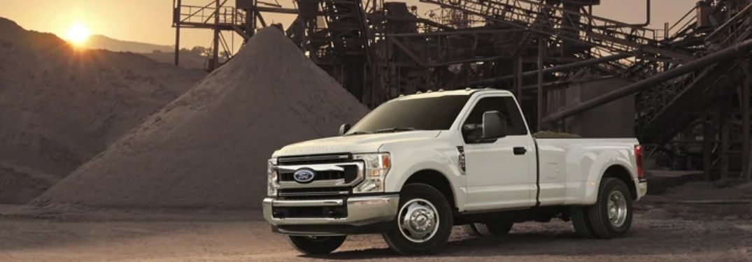 side-view of the 2022 Ford Super Duty