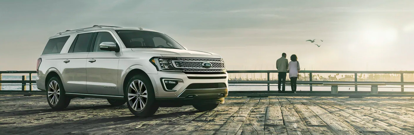 What safety features are standard on the 2021 Ford Expedition?
