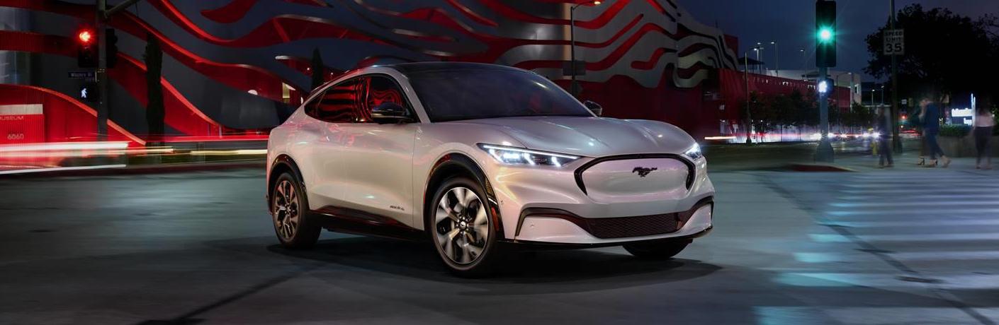 2022 Mustang Mach E Ice White Edition World Premiere