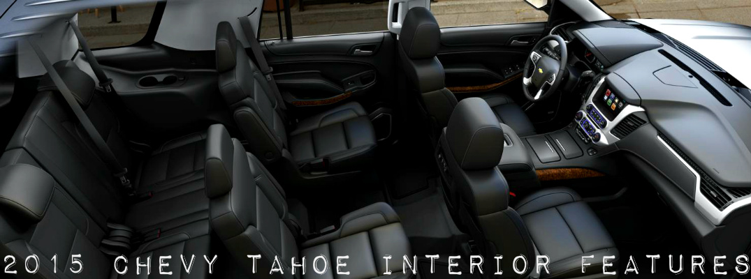 2015 chevy tahoe interior features richmond ky. Black Bedroom Furniture Sets. Home Design Ideas
