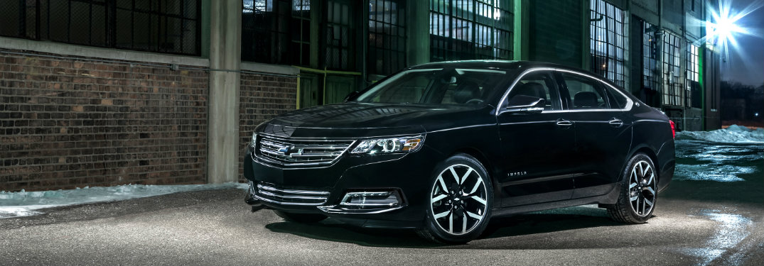 2018 chevy impala safety features 2018 Chevy Impala LTZ black chevy impala parked by buildings night time