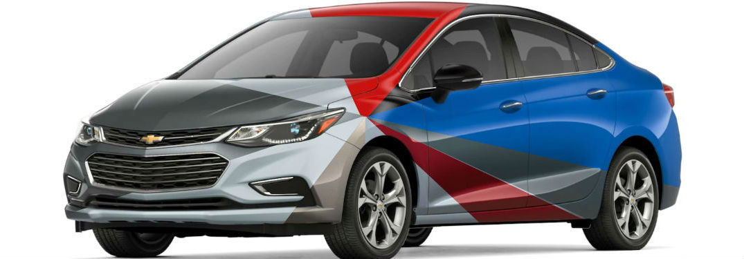 Chevy cruze colors 2016