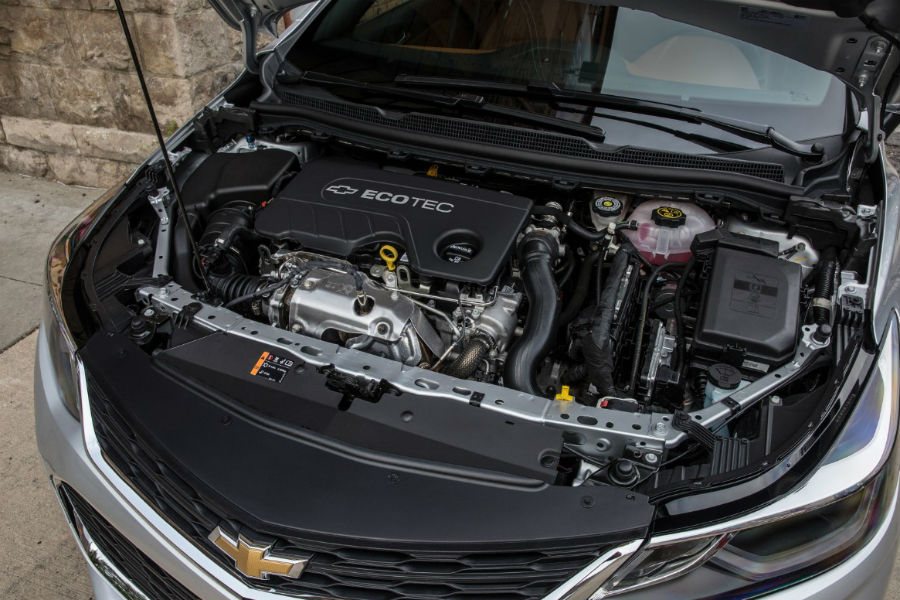 2018 Chevrolet Cruze Under The Hood Diesel Engine Photo Oil Change Interval: 2011 Chevy Aveo Oil Filter Location At Freddryer.co