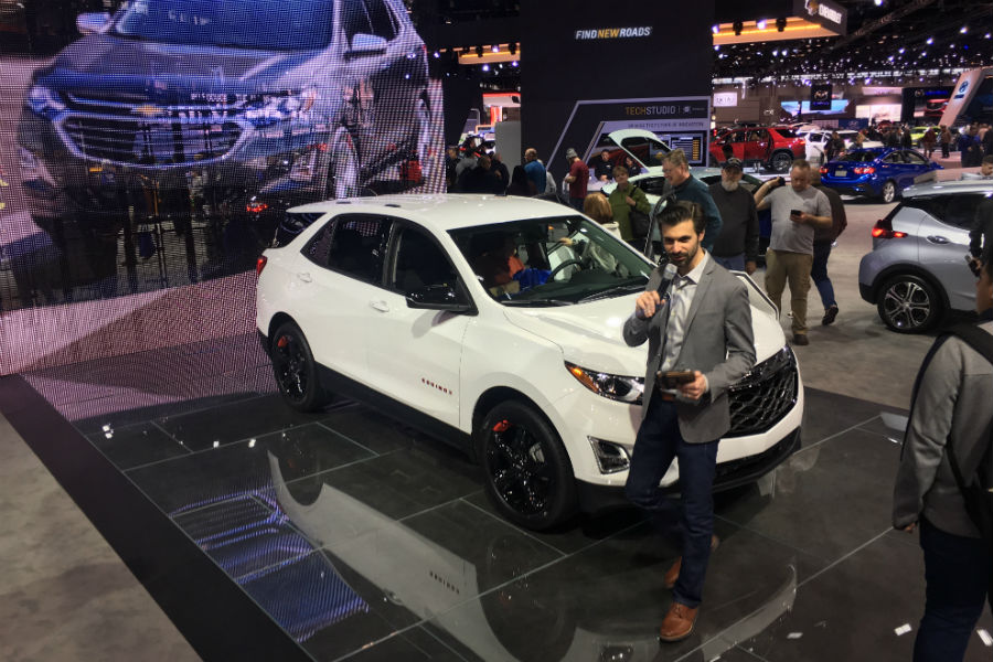 chevrolet chicago auto show 2018 photos jack burford chevrolet