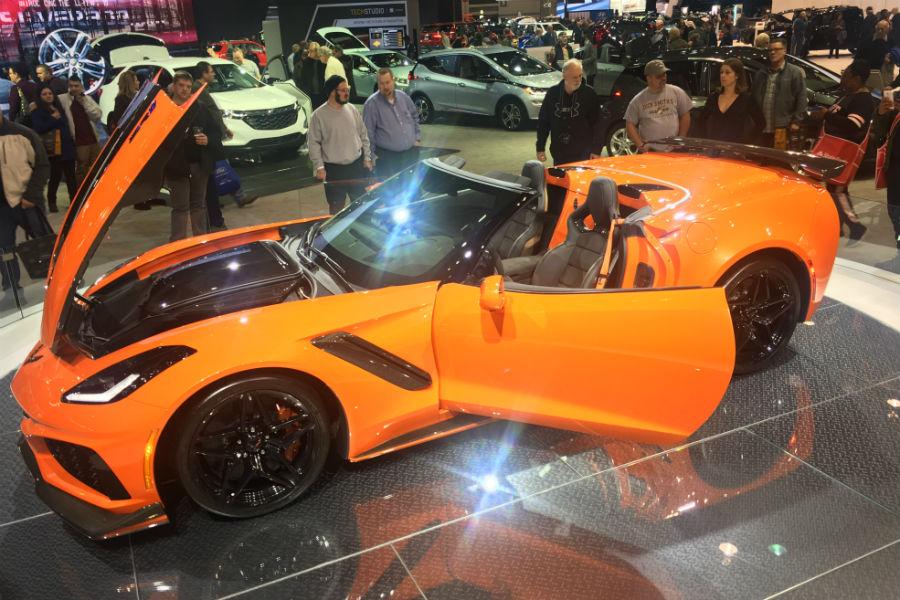 Chevrolet Chicago Auto Show Photos Jack Burford Chevrolet - Car show chicago today