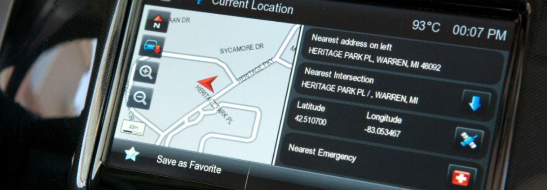 navigation on 2013 chevy spark infotainment unit