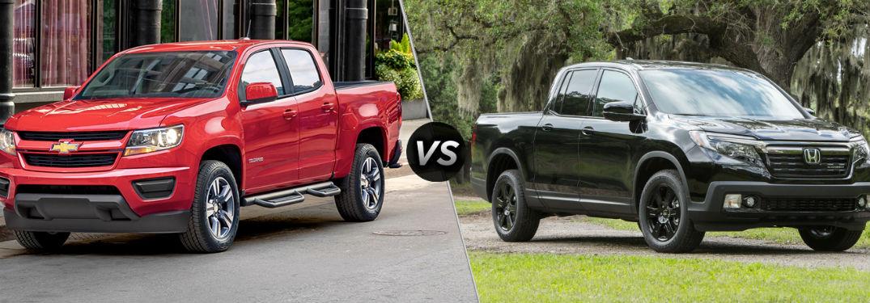 Jack burford chevy official blog for Honda ridgeline vs chevy colorado