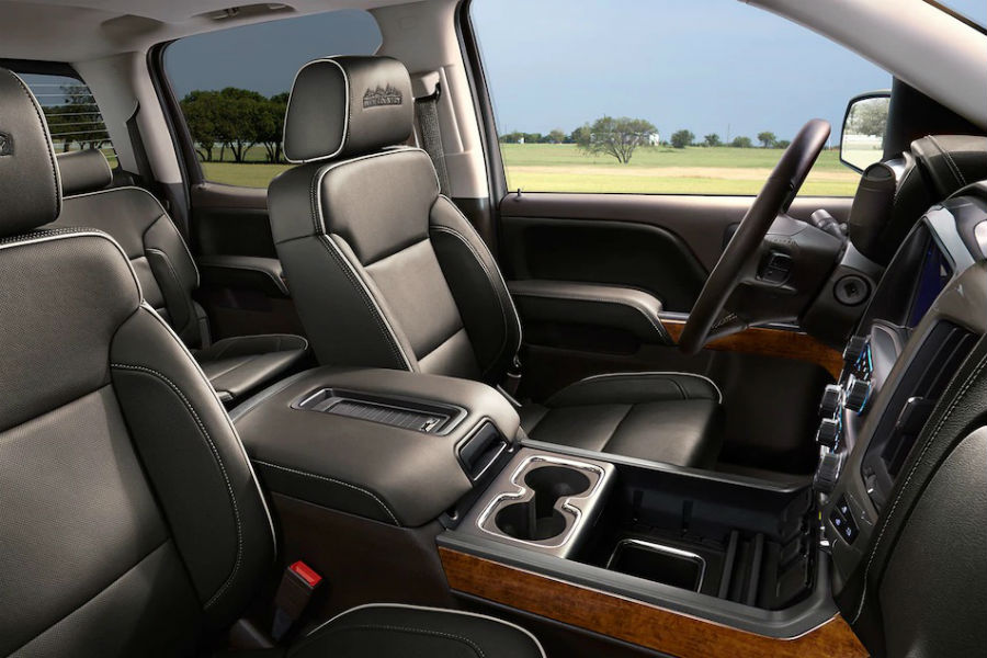 Which chevy vehicles have magneride Chevy silverado high country interior