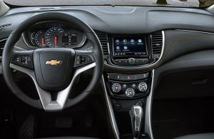 2018 Chevrolet Trax Interior Shown From Rear Seat