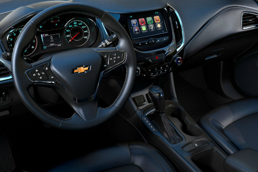 Amazing Interior Of 2018 Chevrolet Cruze Hatchback Amazing Design