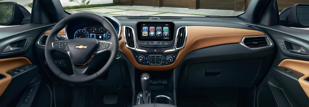 interior of 2018 chevrolet equinox