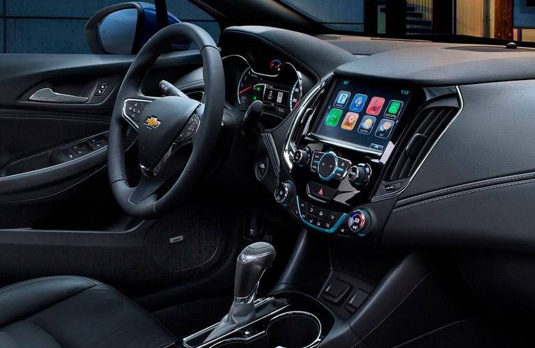 2018 Chevy Cruze Interior From Passenger Seat