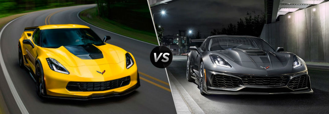 corvette zr1 vs corvette z06 jack burford chevrolet