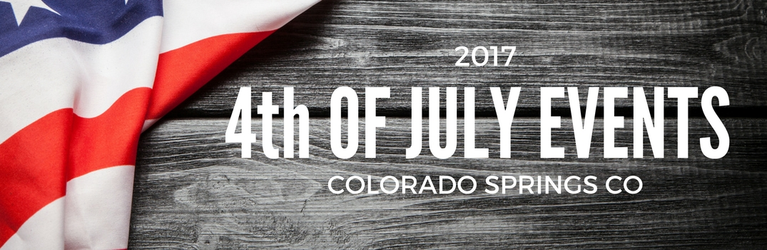 4th of July Fireworks in Colorado Springs 2017