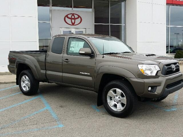 Sign Up And Win A 2015 Toyota Tacoma Toyota Of Muncie