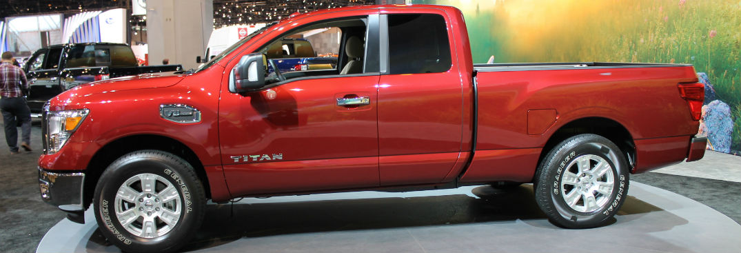 2017 nissan titan and titan xd king cab chicago debut vs 2017 titan crew cab. Black Bedroom Furniture Sets. Home Design Ideas
