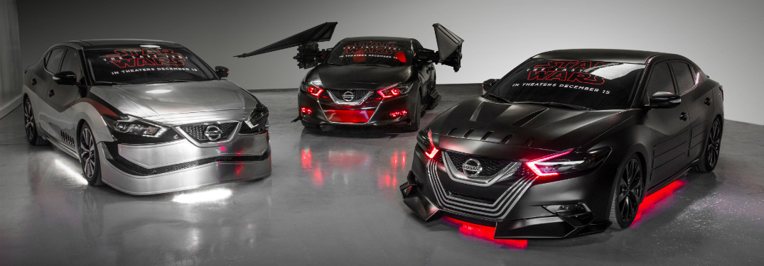 nissan star wars-inspired concept vehicles for 2018 nissan maxima