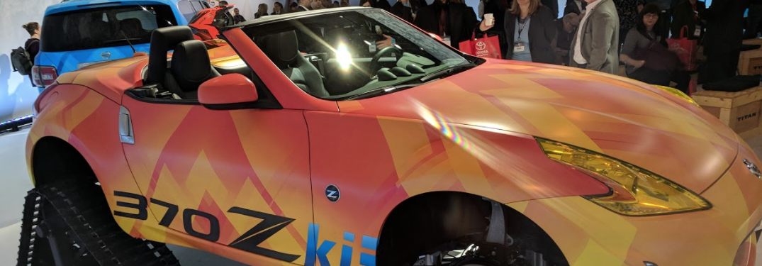 Nissan 370Zki on display at the 2018 chicago auto show