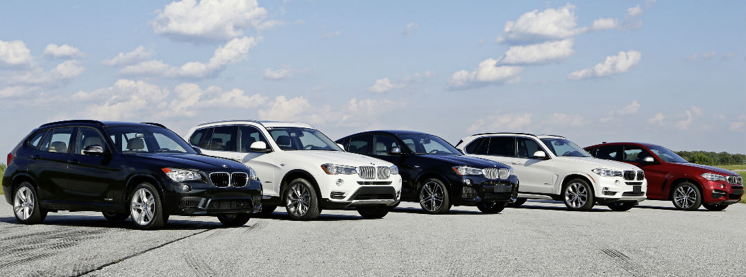 2018 bmw lineup. plain bmw current bmw xseries lineup x1 x3 x4 x5 and x6 in 2018 bmw lineup 0