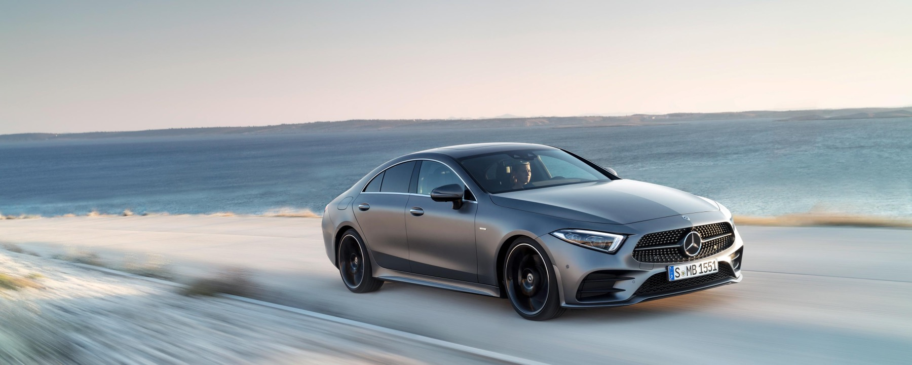 The Mercedes-Benz CLS Wows Drivers