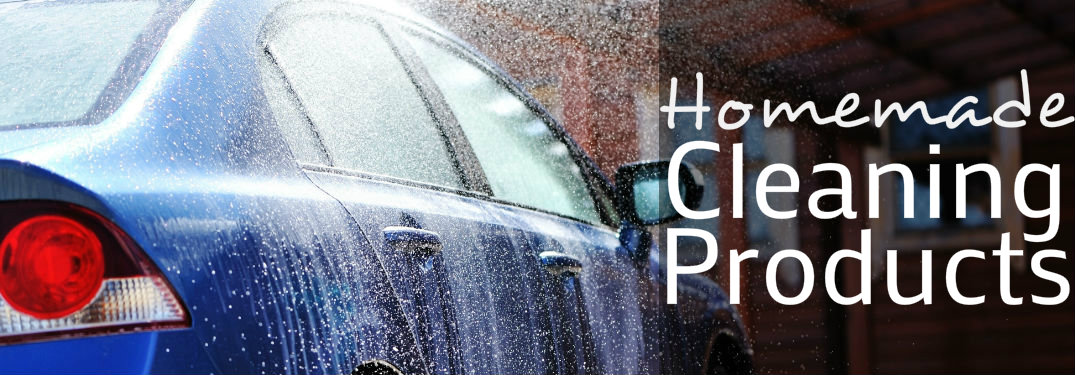 How to make car cleaning products from household items