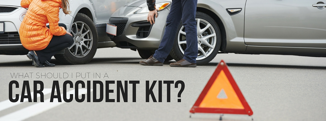 What should I put in a car accident kit?