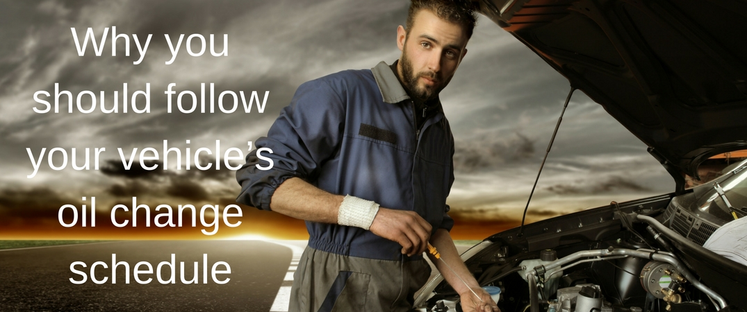 Why you should follow your vehicle's oil change schedule