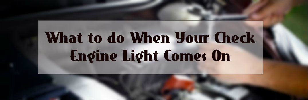 What to do if your check engine light comes on