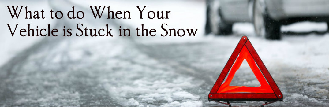 What to Do When Your Vehicle is Stuck in the Snow