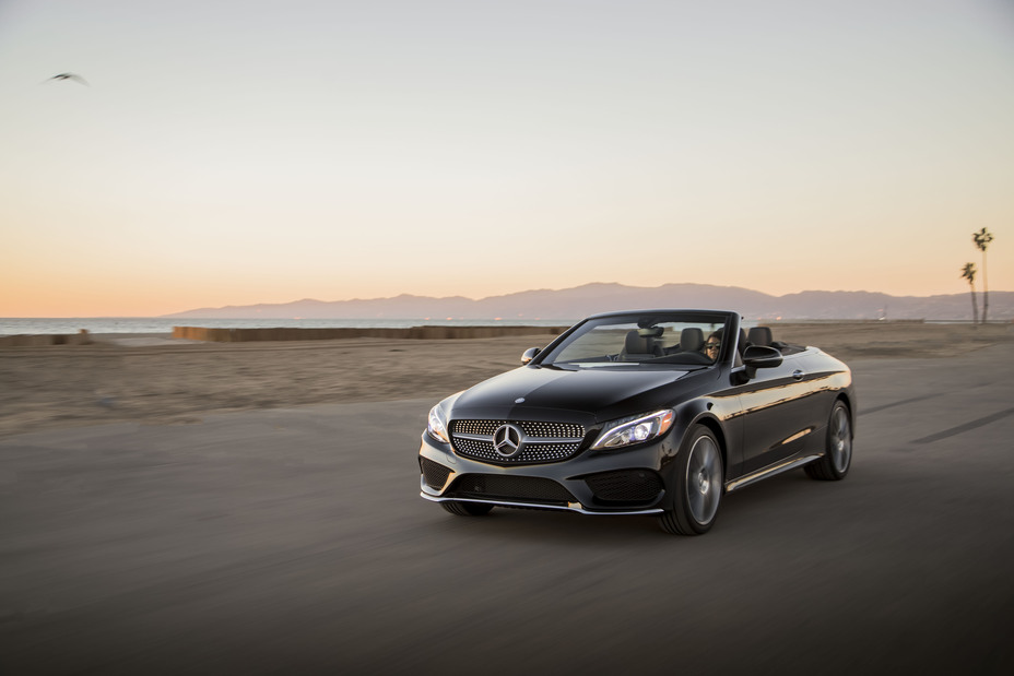 The mercedes c class gives you plenty of options for Mercedes benz of kc