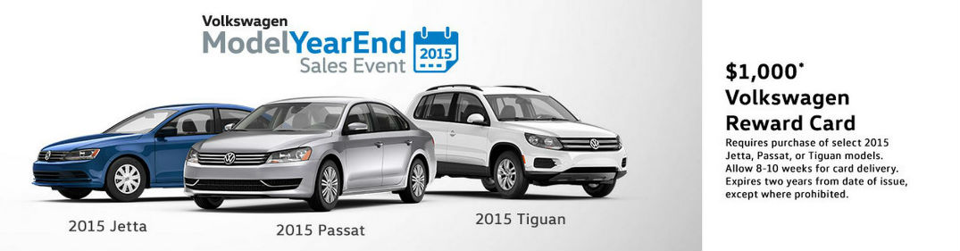 2015 VW Model Year End Clearance Los Angeles