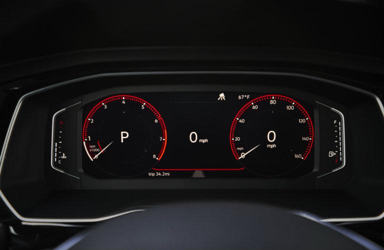 volkswagen jetta speedometer cluster