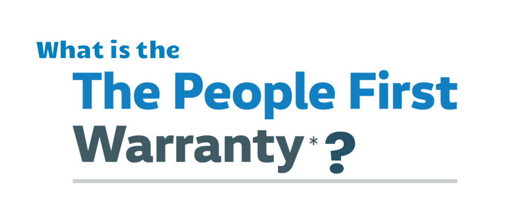 What is the People First Warranty?