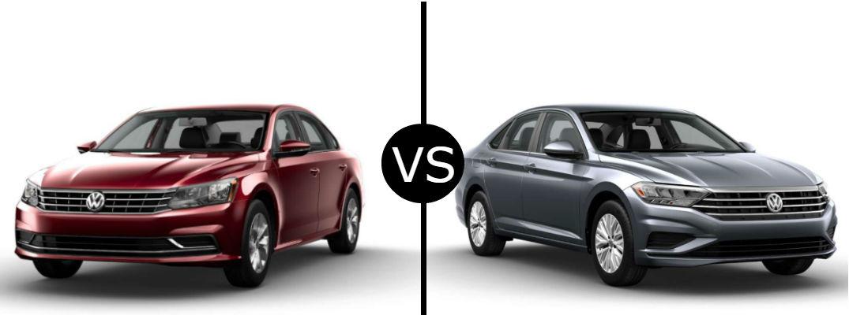2018 VW Jetta vs. Passat