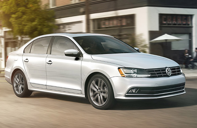 2018 VW Jetta in the city