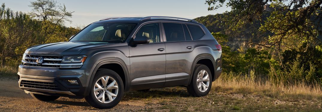 2018 Volkswagen Atlas parked off-road