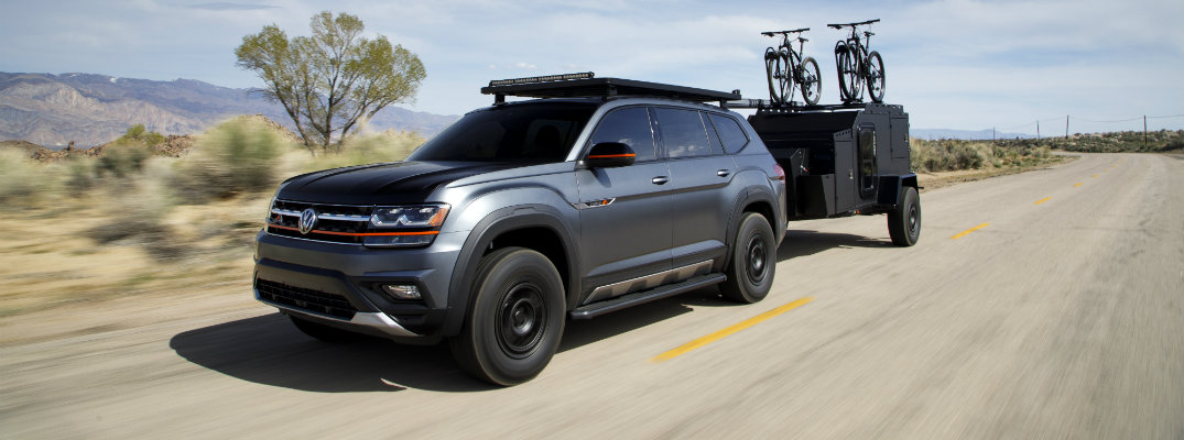 What Is Different About the 2019 Volkswagen Atlas Basecamp?