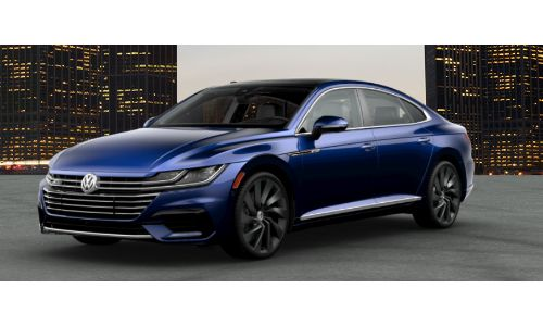 2019 VW Arteon atlantic blue