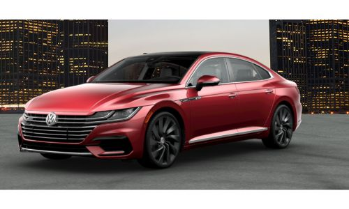 2019 VW Arteon chili red