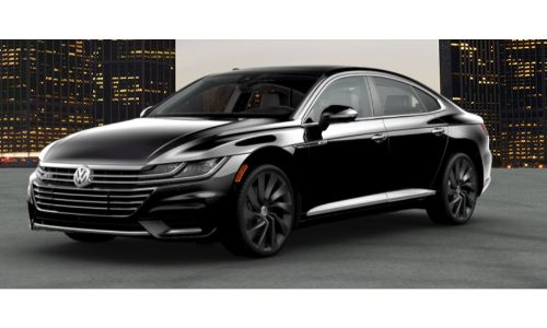 2019 VW Arteon deep black pearl