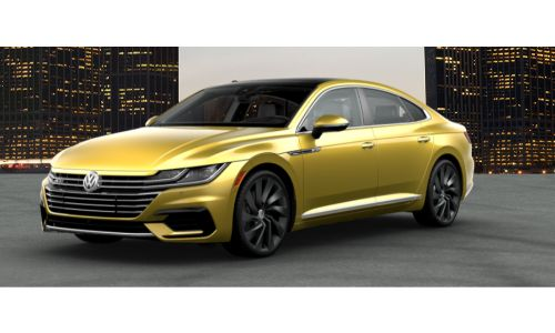 2019 VW Arteon kurkuma yellow